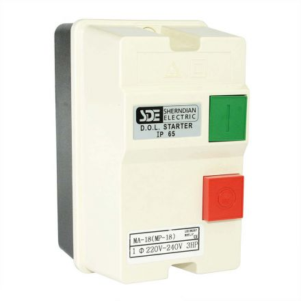 Big Horn 18823 1-Phase, 50HZ @ 240V-60HZ @ 220V, 3-HP, 18-26-Amp Magnetic Switch - CSA Approved