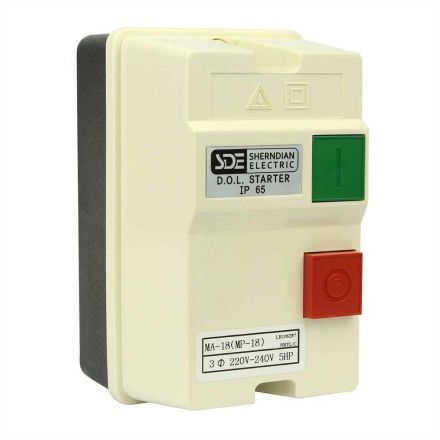 Big Horn 18835 3 Phase, 50HZ @ 240V & 60HZ @ 220V, 5-HP,12-18-Amp Magnetic Switch