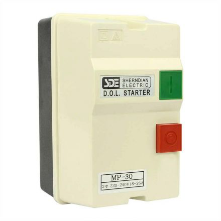 Big Horn 18837 3 Phase, 50HZ @ 240V & 60HZ @ 220V, 7.5-HP, 18-26-Amp Magnetic Switch - CSA Approved