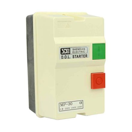 Big Horn 18839 3 Phase, 50HZ @ 240V & 60HZ @ 220V, 10-HP, 22-34-Amp Magnetic Switch - UL Approved