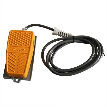Big Horn 18807 110V / 15A Non-Slip Momentary Contact Foot Pedal Switch